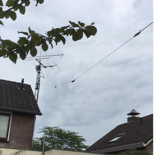 HyEndFed 4 Band Kort 80-40-20-10 meter hangt!