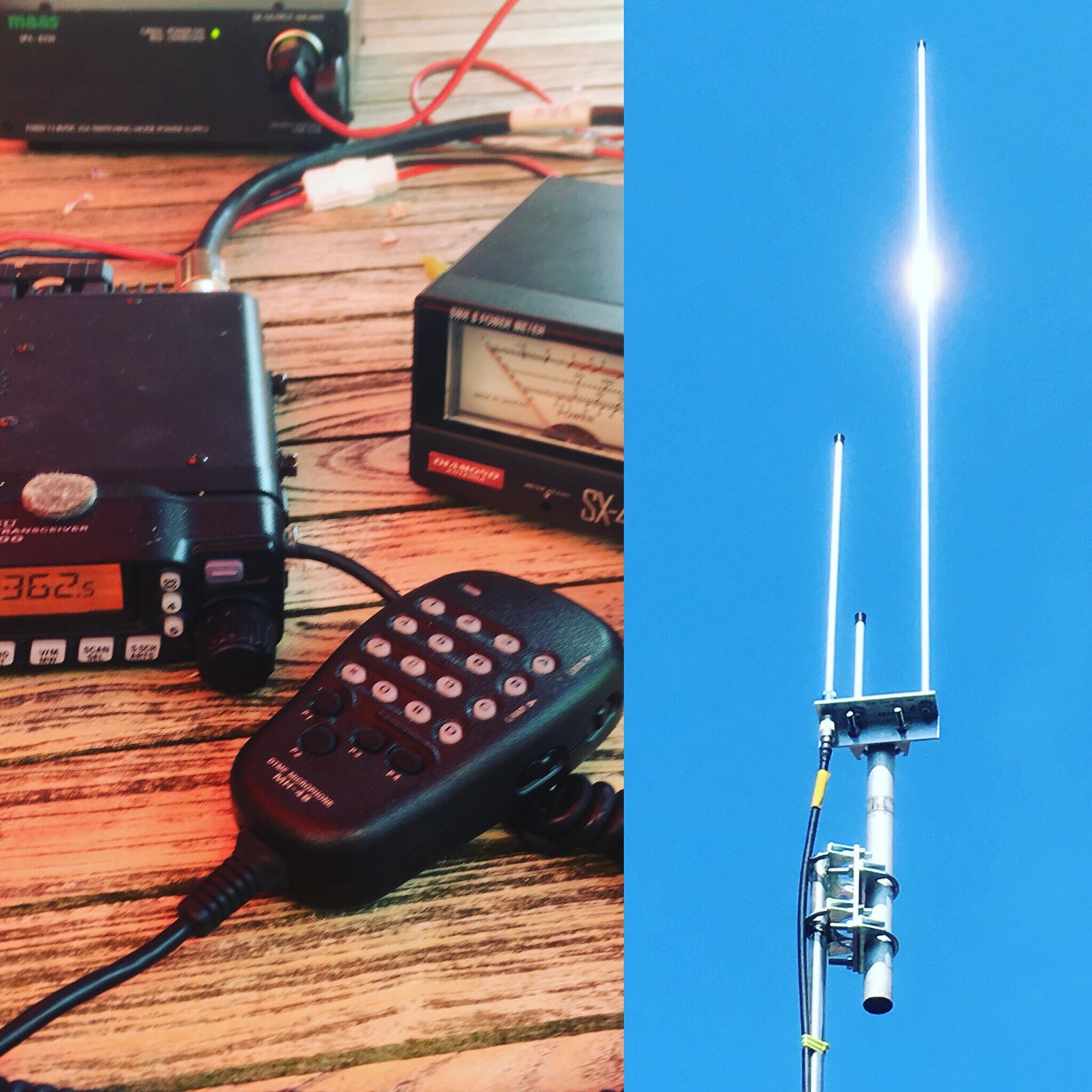 Dualband antenne 2/70 EA270J