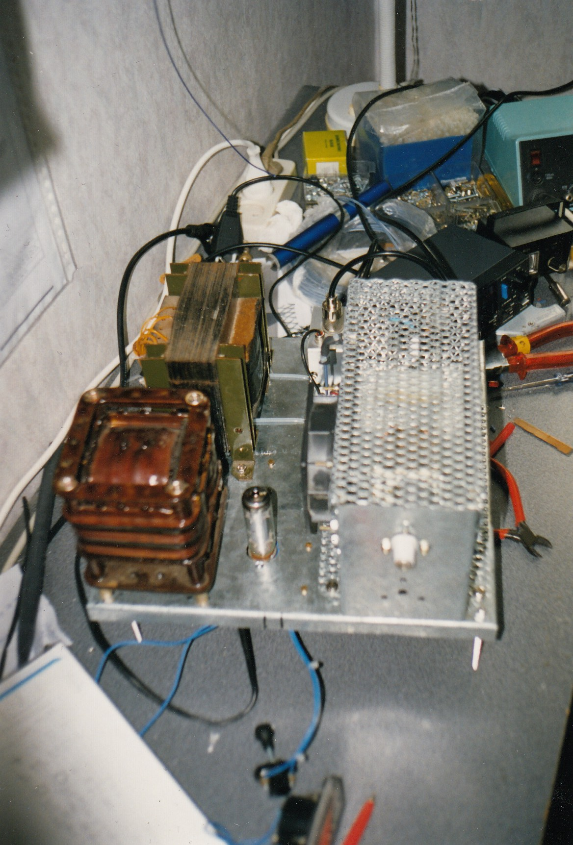 25 Watt 144MHz PA met QQE03/20