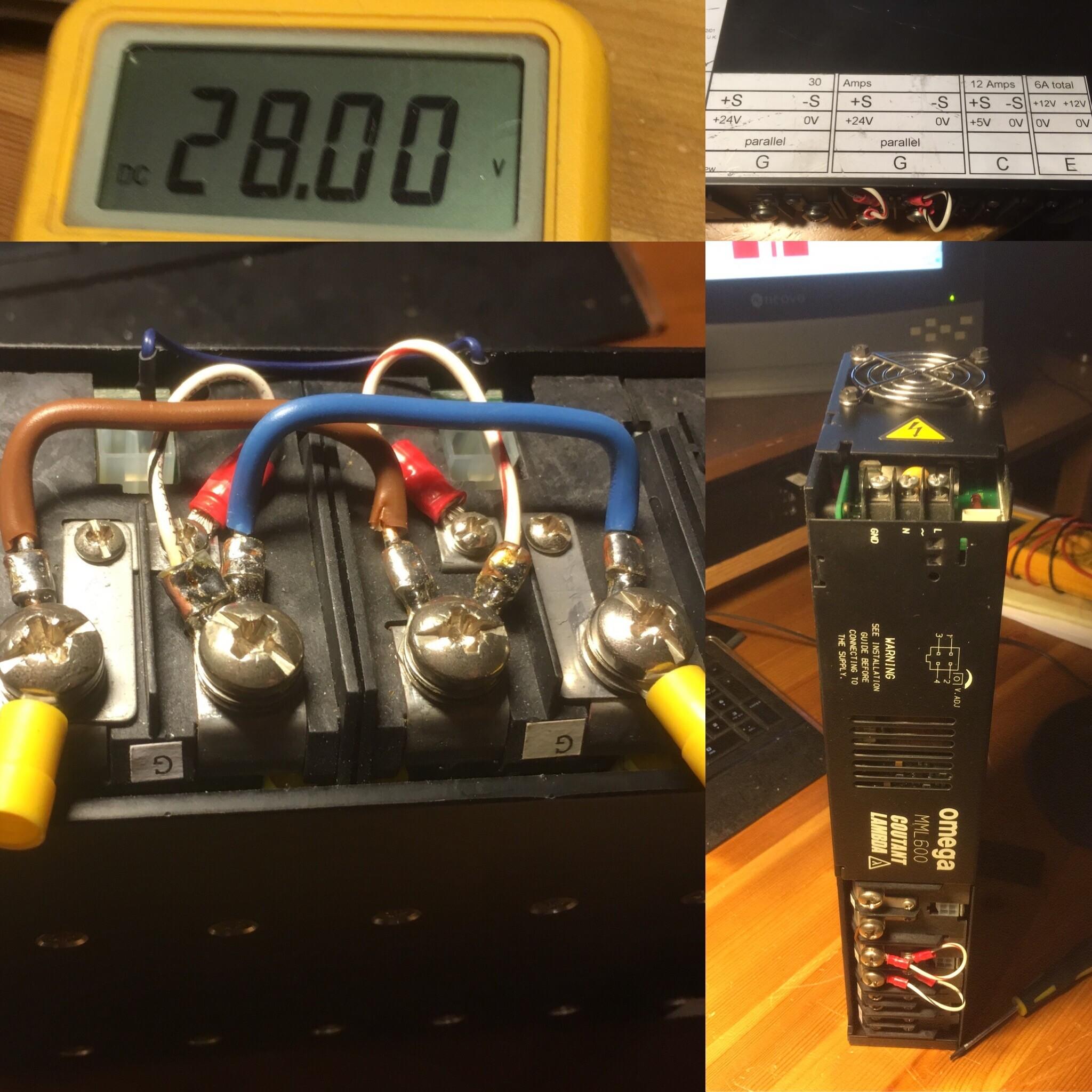 Nieuwe voeding BLF248 144Mhz PA